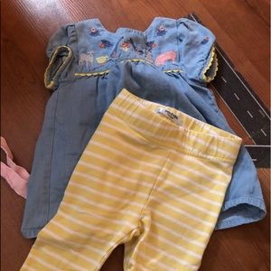 Baby Boden 6-12 months EUC outfit